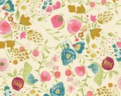"Emmy Grace Fabric from Art Gallery Fabrics ""Budquette Dayspring"" by Bari J. Floral Fabric. 100% premium cotton. EMG-4607"