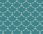 "Emmy Grace Fabric from Art Gallery Fabrics ""Ripples Sea"" by Bari J. Butterfly Fabric.  Turquoise Blue. 100% premium cotton. EMG-5606"
