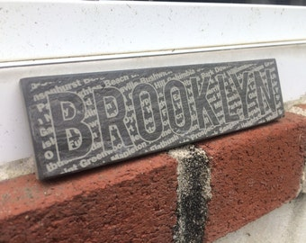 Brooklyn Etched Tile