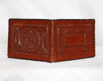 Vintage Real Leather  Wallet  Purse