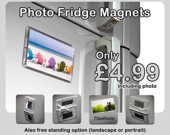 Photo Fridge Magnet including your own photo