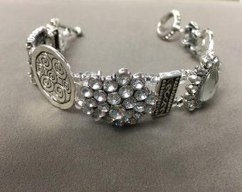Treasure block bracelet