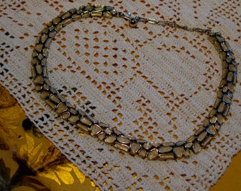 1950's Trifari Stepping Stone  Necklace