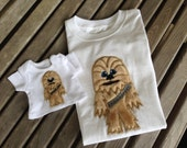 Matching Star Wars shirts for doll and child