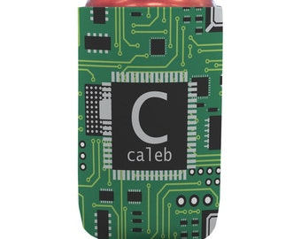 Circuit Board Can Coozie (12 oz)