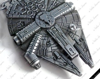 Star Wars Replica Millennium Falcon Key Chain