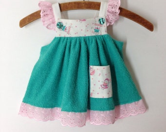 6m Vintage gum drop Lulu dress