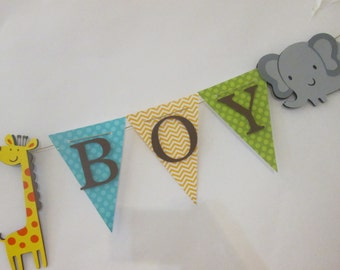 Sweet baby boy banner, baby shower decorations, Welcome baby banner