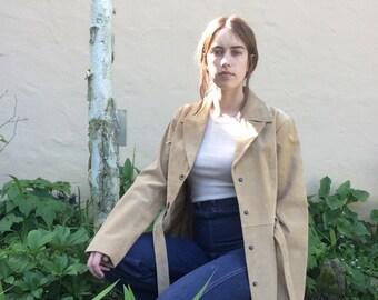90s Suede Coat