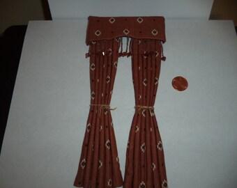 1:12 scale Dollhouse Miniature Southwest Drape