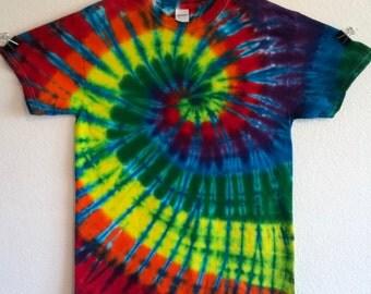 Medium Tie Dye Spiral T Shirt!