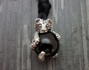 Tiger Pawjama© Pendant - Handmade in then Pacific Northwest