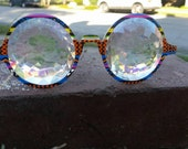 Kaleidoscope  ~ Prism Tribal Fractal Kaleidoscope Glasses