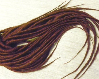Synthetic Dreadlocks - Full Set (80 ends) Solid Color Dreads
