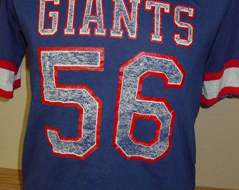 73b61d0f4ea ... Vintage 1980s Lawrence Taylor New York Giants football t shirt jersey  Rawlings MEDIUM ...