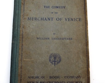 Eclectic English Classics: The Comendy of the Merchant of Venice,1893