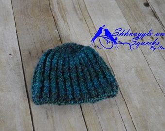 Ribbed Baby Beanie