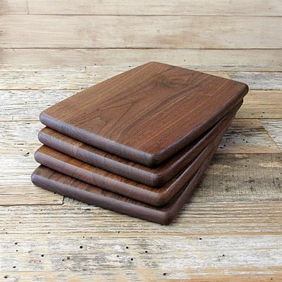 Cheeseboard sandwich board wood cutting walnut