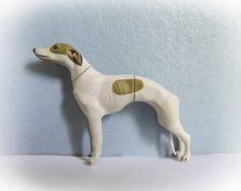 Retired Kaiyodo Furuta Choco Egg Q Pet Animal Series 1 Greyhound Whippet A Rare Dog Figure