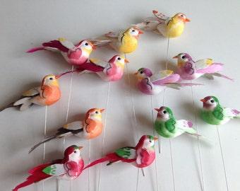 Decorative Bird on stem