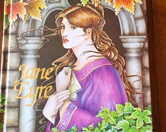 Jane Eyre Hardcover Book - 1983 - Very good condition