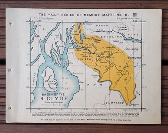 Map of the River Clyde