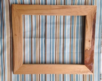 11x14 Pecan Wood Picture Frame
