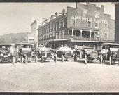 Brookville, PA 1914, in automobile,  cars, antique cars, Automobile-Photo-Print.