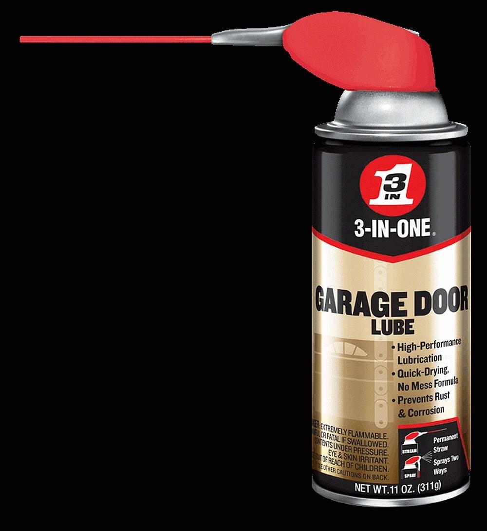 3 In One Garage Door Spray Lube Aerosol Spray Oil