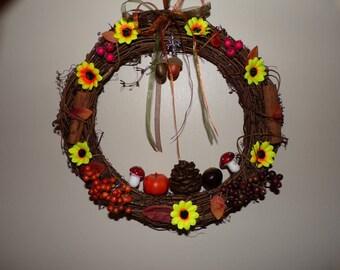 Limited Edition 30cm Samhain  wreath