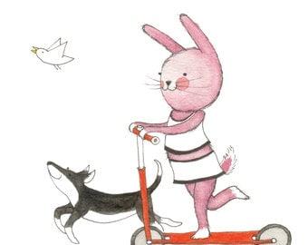 card 'Little bunny'