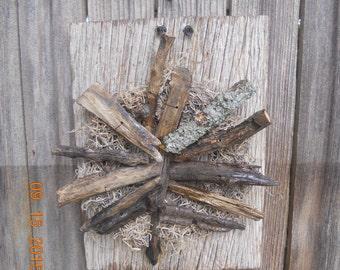 Drift Wood Wall Decor
