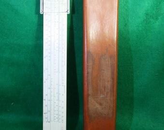 Vintage K & E Log Slide Rule 4090-3