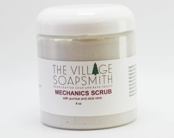Mechanics Scrub with pumice and aloe vera, hand scrub