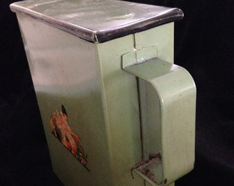 Vintage Laundry Soap Flake Metal Dispenser/Container