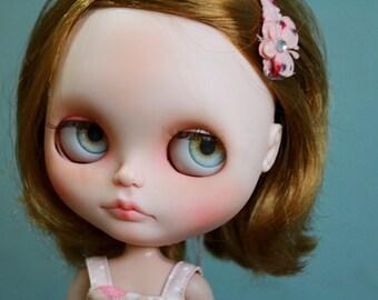 Eyechips for Blythe dolls - Realistic Light Gray