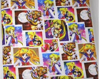 sailor moon fabric