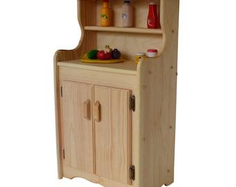 Wooden Play Kitchen-Child's Pantry-Jenny's Pantry