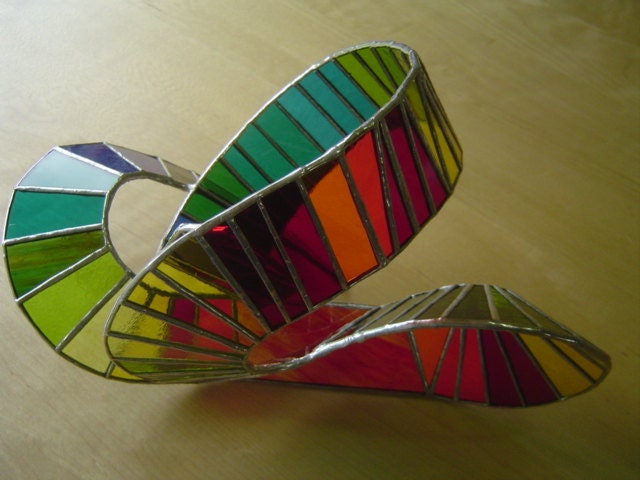3d Stained Glass Sculpture Roller Coaster