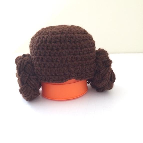 Crochet Pattern Princess Leia Hat : Crochet Star Wars Princess Leia hat / star wars / princess