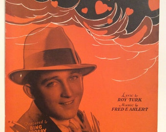 BING CROSBY Love, You Funny Thing Sheet Music 1932