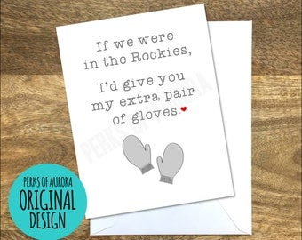 Dumb and Dumber inspired funny romantic card