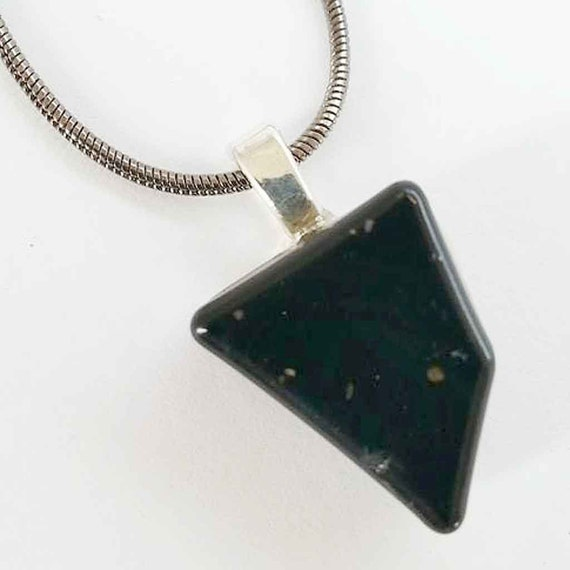 Electromagnetic Radiation Protection Necklace: Orgonite Necklace. EMF Protection. WiFi By EarthlightsJewelry