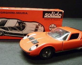 Solido by Marx Lamborghini-Miura 1/43 scale ~ France