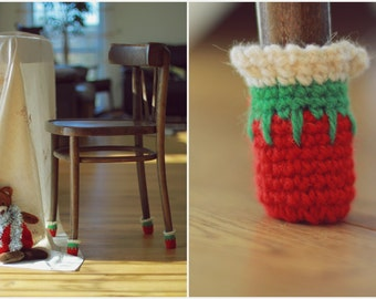 Christmas Chair socks, Christmas home Cristmas decor, Floor protector, chair leg socks, table socks, home decor, Eco-friendly gift