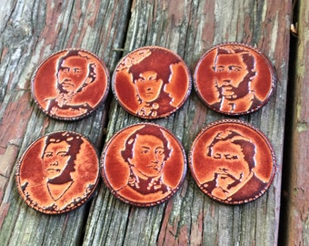 Old Leather Coin chips
