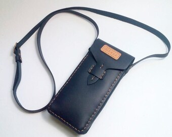 Phone Pouch, Neck Pouch, Leather Phone Pouch, Leather Phone Case, Custom Phone Case,Phone Pouch, Phone Bag, Neck Bag,Neck Pouch,Phone Wallet