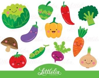 Vegetable clipart | Etsy