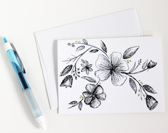 Floral Greeting Card