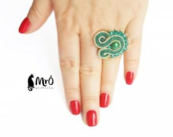 Baeutiful Soutache Rings !!! anello soutache, anneau soutache